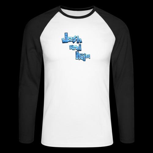 Josh and Ilija - Men's Long Sleeve Baseball T-Shirt