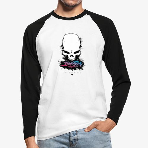 ZF Immortals Skull - Men's Long Sleeve Baseball T-Shirt