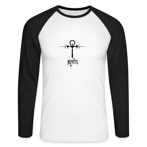 Nephtys-rythm - T-shirt baseball manches longues Homme