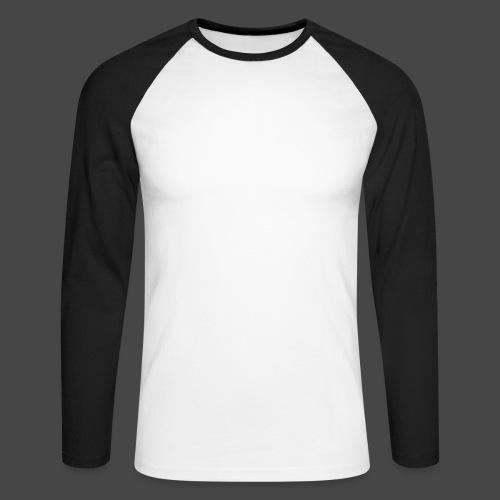 Name only - Men's Long Sleeve Baseball T-Shirt