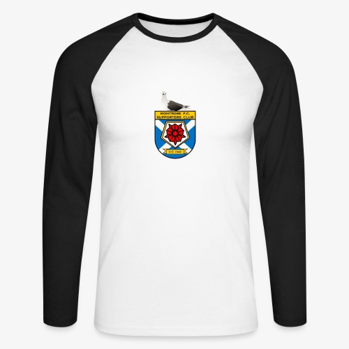 Montrose FC Supporters Club Seagull - Men's Long Sleeve Baseball T-Shirt