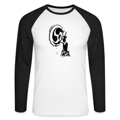 Odaiko Trommlerin - Männer Baseballshirt langarm