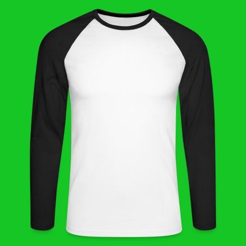 Paardenhoofd line - Mannen baseballshirt lange mouw