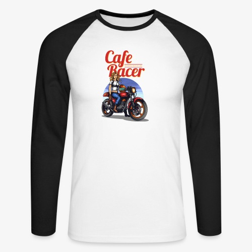 Cafe Racer - T-shirt baseball manches longues Homme