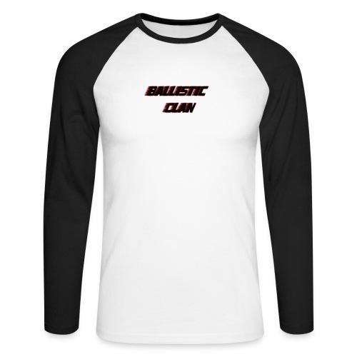 BallisticClan - Mannen baseballshirt lange mouw