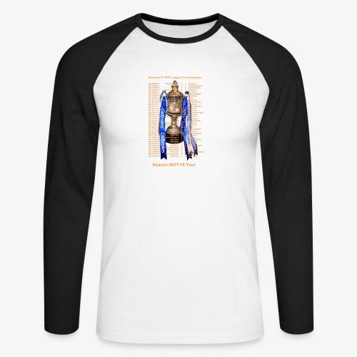 Montrose League Cup Tour - Men's Long Sleeve Baseball T-Shirt