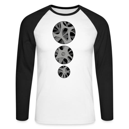 RoundHollow - Langærmet herre-baseballshirt