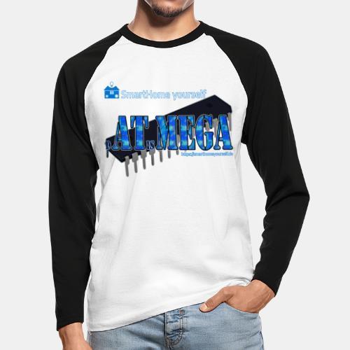 dATisMEGA - Männer Baseballshirt langarm