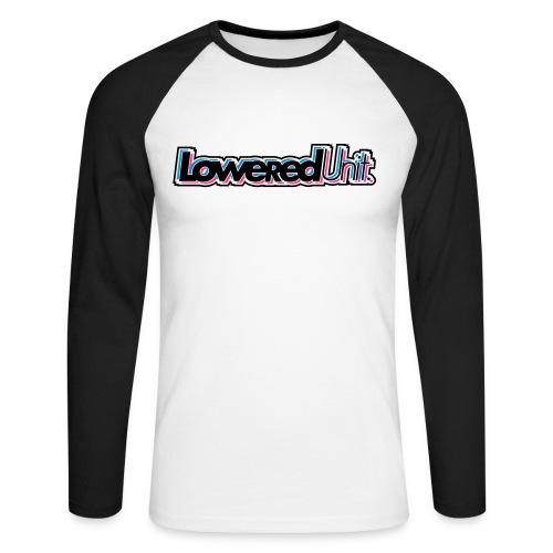 Dazzle Loweredunit - Männer Baseballshirt langarm