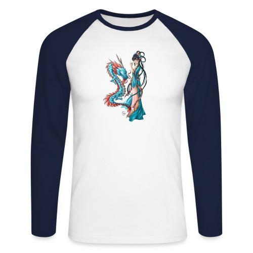 Blue Dragon - T-shirt baseball manches longues Homme