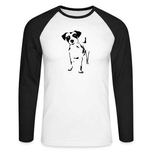 Jack Russell Terrier - Männer Baseballshirt langarm