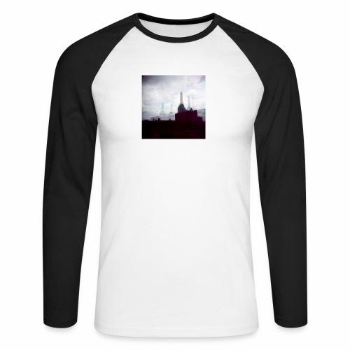 Original Artist design * Battersea - Men's Long Sleeve Baseball T-Shirt