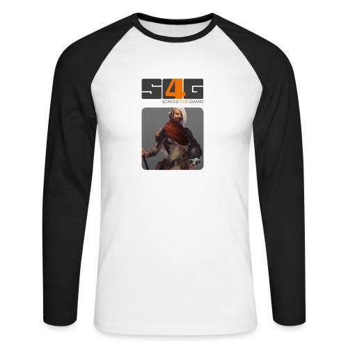 S4G Motiv quadrat - Männer Baseballshirt langarm