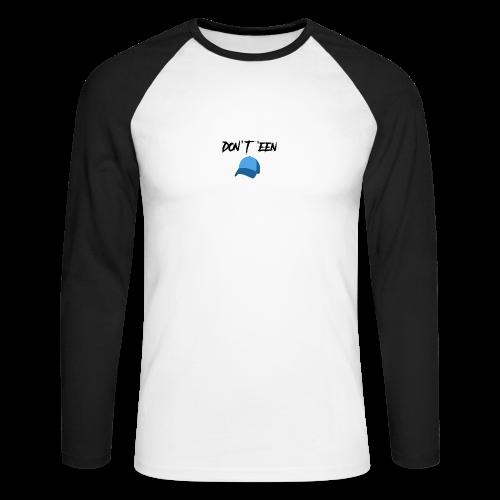 AYungXhulooo - Atlanta Talk - Don't Een Cap - Men's Long Sleeve Baseball T-Shirt