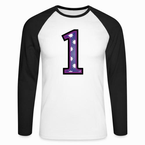 1 fsoo9 - Men's Long Sleeve Baseball T-Shirt