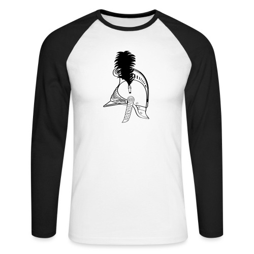 vieux_casque_1c - T-shirt baseball manches longues Homme