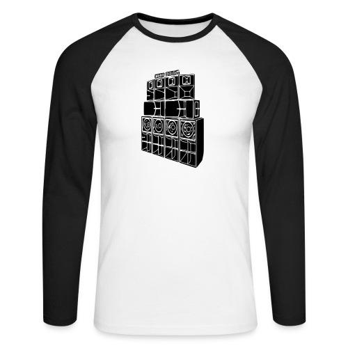 soundsystem - Männer Baseballshirt langarm