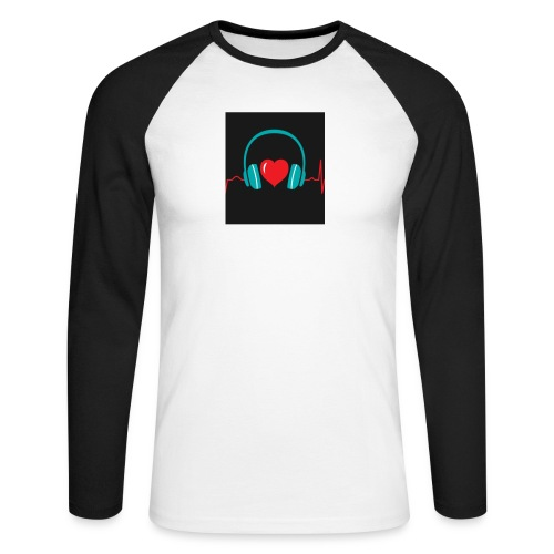 Victoria Sowinska - Men's Long Sleeve Baseball T-Shirt