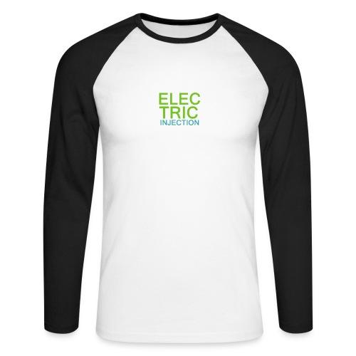 ELECTRIC INJECTION basic - Männer Baseballshirt langarm