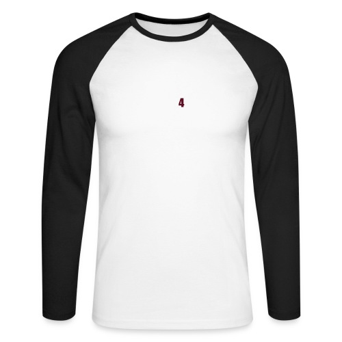 Airbrush - Männer Baseballshirt langarm