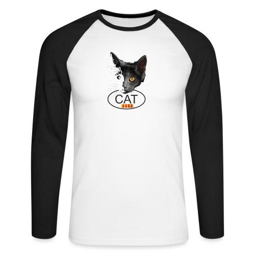 gat catala - Raglán manga larga hombre