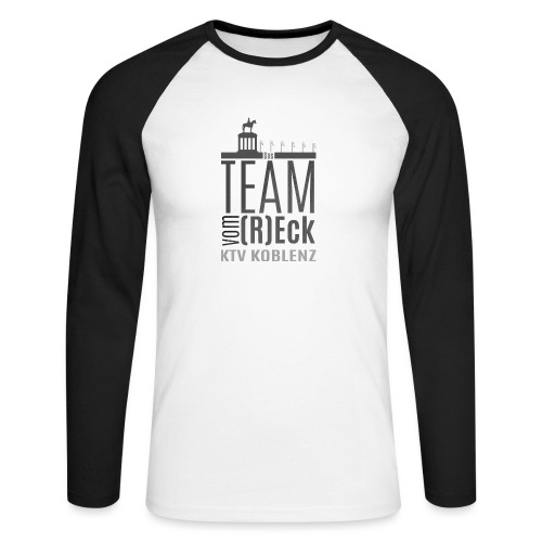 Shirt_Logo_2016_grau - Männer Baseballshirt langarm