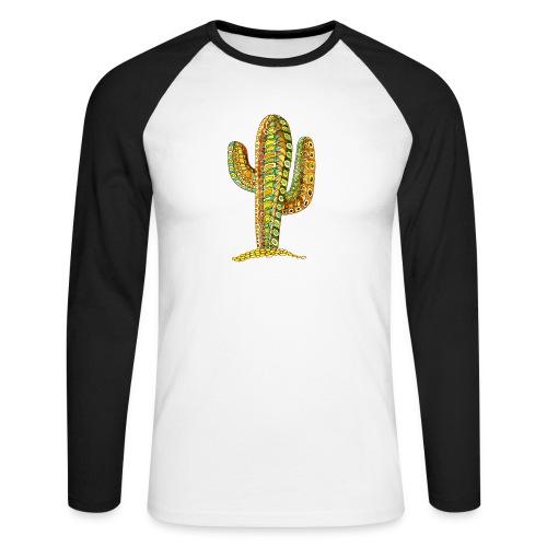 Le cactus - T-shirt baseball manches longues Homme