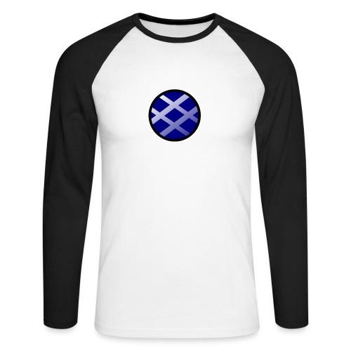 Logo církel - Men's Long Sleeve Baseball T-Shirt