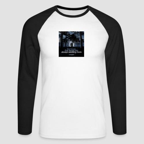 The House - Men's Long Sleeve Baseball T-Shirt