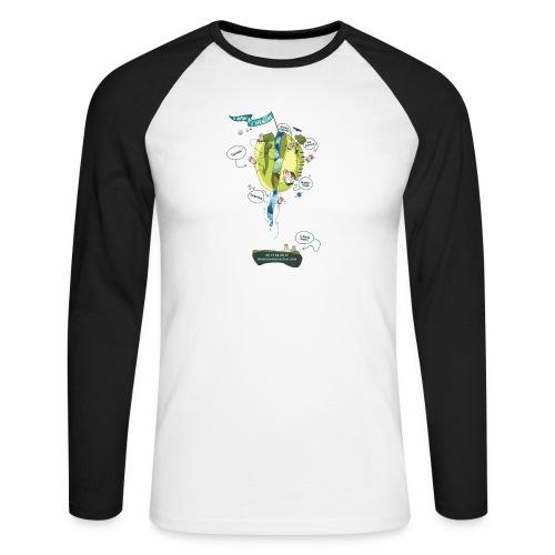 T-shirt Maison de L'aventure - T-shirt baseball manches longues Homme