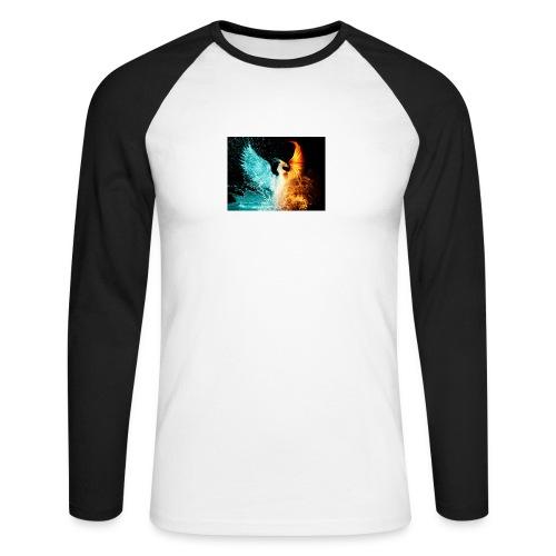 Elemental phoenix - Men's Long Sleeve Baseball T-Shirt