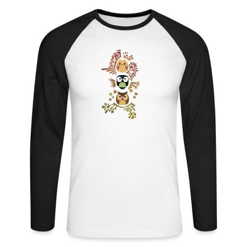 Good Wise Owls - Männer Baseballshirt langarm