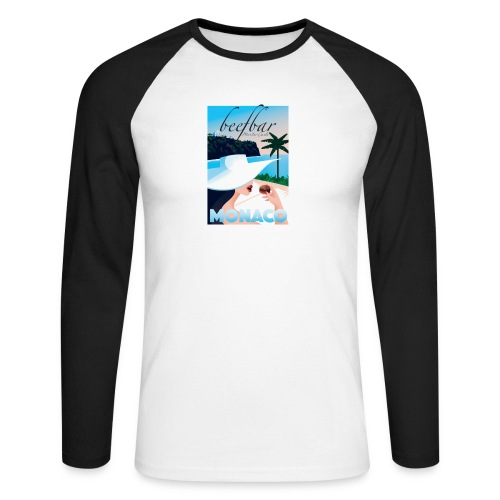 Monaco - Men's Long Sleeve Baseball T-Shirt