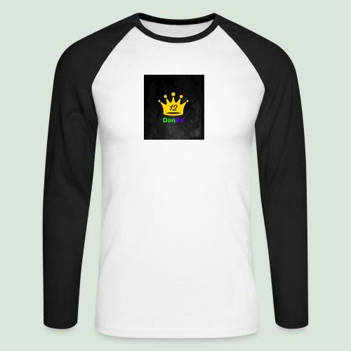 DonKe 12er Fashion - Männer Baseballshirt langarm