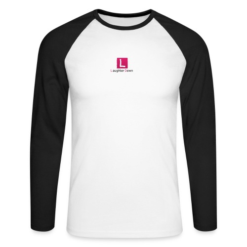laughterdown official - Men's Long Sleeve Baseball T-Shirt