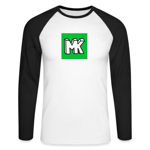 MK - Mannen baseballshirt lange mouw