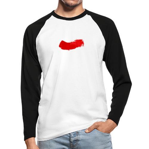Painter - Langermet baseball-skjorte for menn