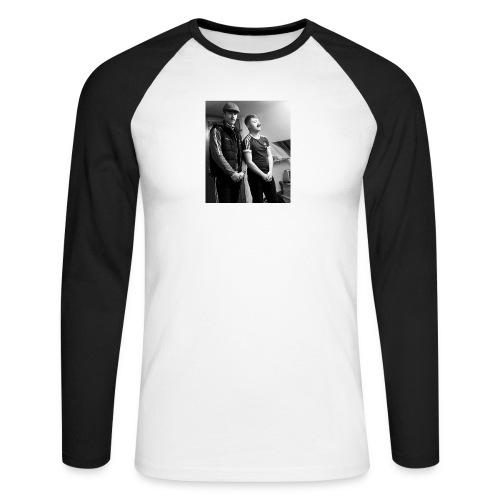 El Patron y Don Jay - Men's Long Sleeve Baseball T-Shirt