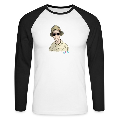 Hippie - Tee shirt manches longues Premium Femme - T-shirt baseball manches longues Homme