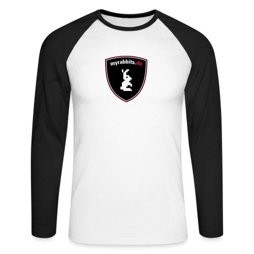 myrabbits wappen - Männer Baseballshirt langarm