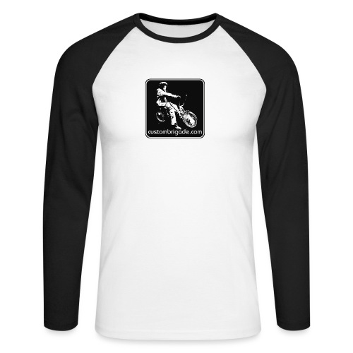 Logo Lowrider - T-shirt baseball manches longues Homme
