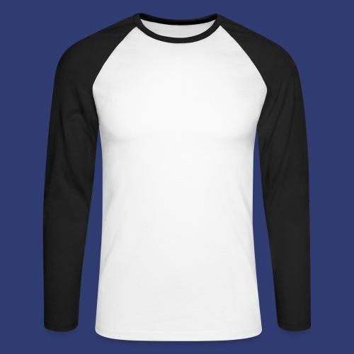 PRDLL White - Mannen baseballshirt lange mouw
