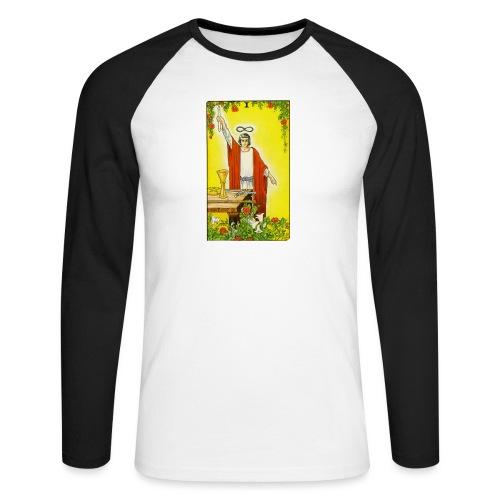 tarot - Mannen baseballshirt lange mouw