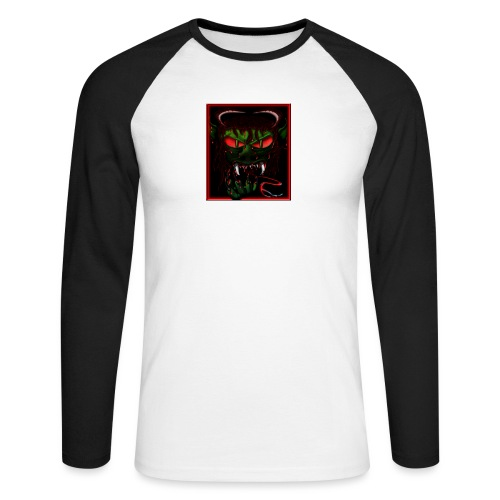 monster - Men's Long Sleeve Baseball T-Shirt