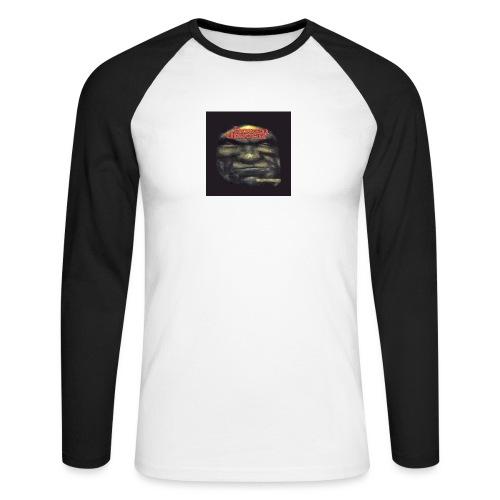 Hoven Grov knapp - Men's Long Sleeve Baseball T-Shirt