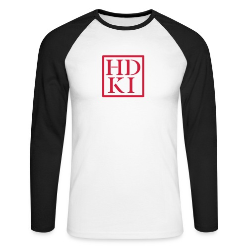 HDKI logo - Men's Long Sleeve Baseball T-Shirt