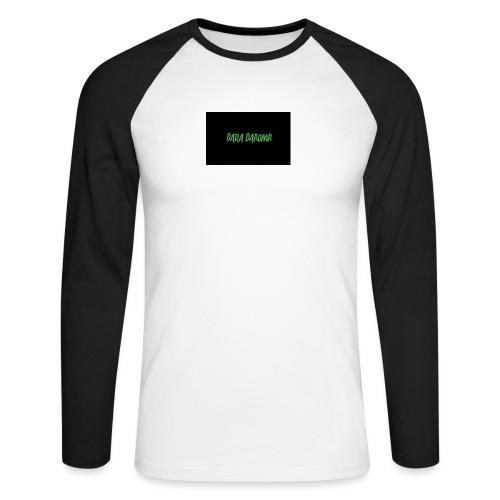 Blackout Range - Men's Long Sleeve Baseball T-Shirt