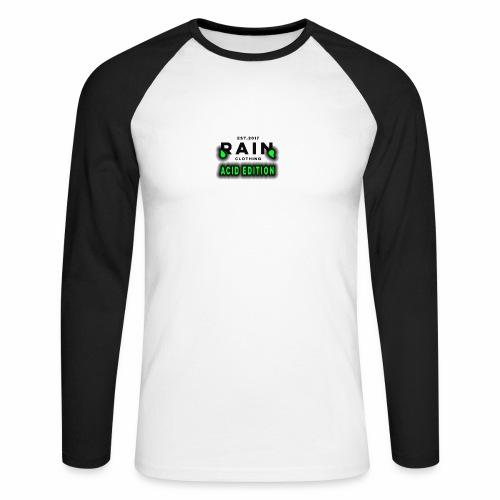 Rain Clothing - ACID EDITION - - Men's Long Sleeve Baseball T-Shirt