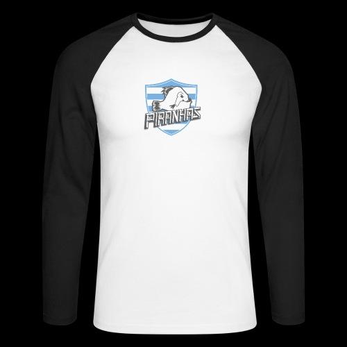 Logo Piranhas v5 - T-shirt baseball manches longues Homme