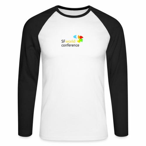SFworldconference T-Shirts - Männer Baseballshirt langarm